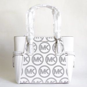 Michael Kors Voyager MK Perforated Leather Tote